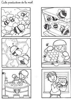Menta Más Chocolate - RECURSOS y ACTIVIDADES PARA EDUCACIÓN INFANTIL: Libro de las ABEJAS