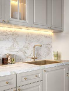 Home Design Living Room, Kitchen Room Design, Modern Kitchen Design, Home Decor Kitchen, Home Kitchens, Neoclassical Interior Design, Home Interior Design, Adobe Photoshop, Pantry Design