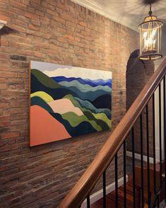 Custom artwork for your home. Custom Art, Evergreen, Your Space, Original Artwork, Tapestry, Artist, Nature, Fun, Painting