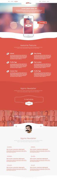 70 Plus Fresh Free PSD Web Templates| psd web template | Graphic Design Inspiration