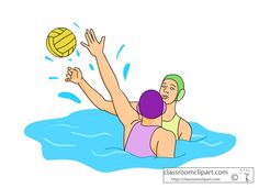 Water Polo Player Clipart - Free Clip Art Images