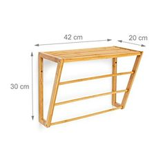 Wooden Pallet Furniture, Small Furniture, Wooden Decor, Home Decor Furniture, Diy Home Decor, Quilt Wall Hangers, Bathroom Towel Storage, Restroom Design, Wooden Rack