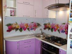 Стеклянные панели для кухни ( скинали) Картины на стекле | 55 фотографий