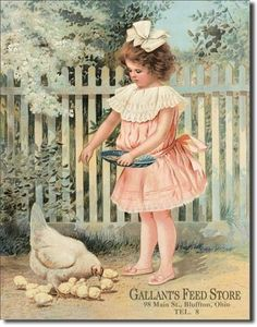 Gallant's Feed Store Girl Feeding Chickens Retro Vintage Tin Sign Leapin Lizard,http://www.amazon.com/dp/B000W4GT0O/ref=cm_sw_r_pi_dp_z8.stb08BKR8JKVD