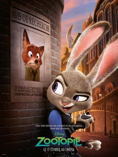 Saw Zootopia today! It was so clever and funny! Such a good movie!