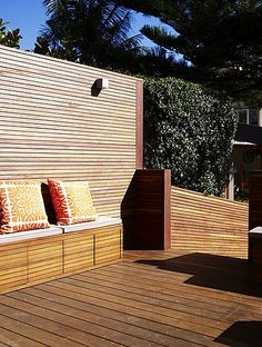 back deck privacy