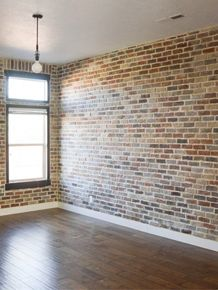 Thin Brick, Brick Veneer, Faux Brick, Half Brick, whatever they call it in your neck of the woods, lets get this show on the road!! First, I feel like I need to open with a disclaimer.  I found a lotRead More