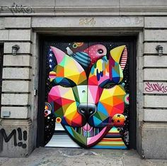 OKUDA (Spain) new wall in NYC