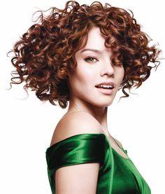 cool Модная химическая завивка на короткие волосы (50 фото) — Идеи стрижек и причесок с кудрями