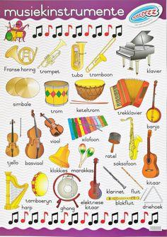 Grade R Worksheets, Letter Tracing Worksheets, Worksheets For Kids, Music Lessons For Kids, Kids Songs, Music Classroom Posters, Afrikaans Language, Kindergarten Lesson Plans, Life Hacks For School