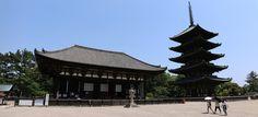 https://flic.kr/p/nxDtGU   img_1866-1867   The five-storied pagoda (五重塔) and Tōkon-dō (東金堂) of Kōfuku-ji (興福寺) in Nara (奈良市).