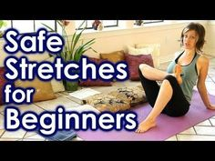 How To Stretch for Beginners, Safe Stretches for Full Body Yoga, Back & Leg Pain Relief, Sciatica - YouTube -20 min video