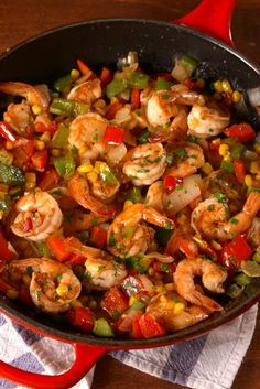 Shrimp Dinner Recipes for Two is One Of Beloved Dinner Recipes Of Several Persons Round the World. Besides Easy to Produce and Excellent Taste, This Shrimp Dinner Recipes for Two Also Health Indeed. Cajun Shrimp Recipes, Shrimp Recipes For Dinner, Supper Recipes, Seafood Recipes, Easy Dinner Recipes, Cooking Recipes, Dinner Ideas, Seafood Menu, Cooking Food