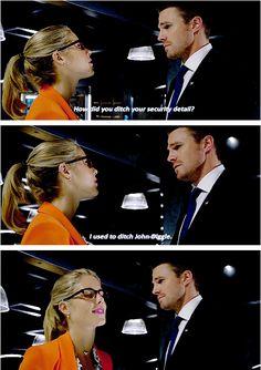 Arrow - Oliver & Felicity #5.1 #Olicity <3