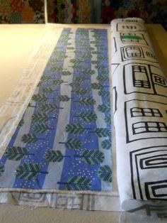 Quilt as you go tutorial - strip quilt