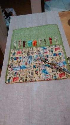 Porta agulha de trico
