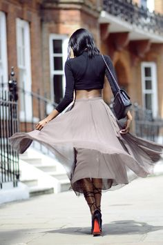 awesome how i wear my crop top street style photo form bisousnatasha fashion blog