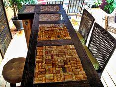 Clear Epoxy Bar Top #epoxy #resin #coating