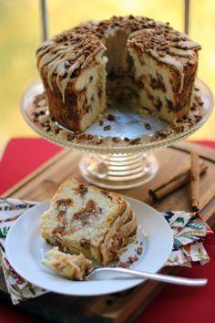 Pumpkin Streusel Swirled Cream Cheese Pound Cake > Willow Bird Baking