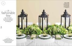 gorgeous tablescape [from The Knot]