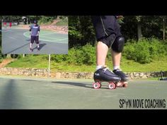 How to Transition on Roller Skates - YouTube