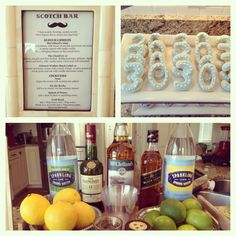 Scotch Bar for a manly celebration!