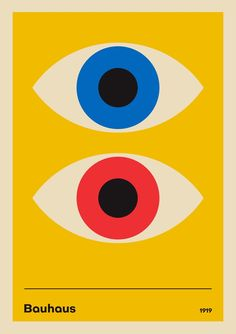 discount design poster 24 x 36 inch Art Bauhaus, Bauhaus Style, Bauhaus Design, Retro Poster, Vintage Posters, Art Jaune, Cover Design, Design Art, Red Design