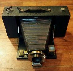 Kodak No. 3-A Folding Brownie Camera, Model A, in good condition in Cameras & Photo, Vintage Movie & Photography, Vintage Cameras | eBay
