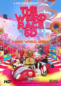 The Weird Race 5D - Candy World Arena - Trailer on Behance