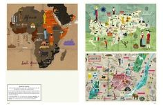 A Map of the World: The World According to Illustrators and Storytellers | Parka Blogs