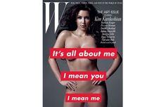 Kim Kardashian by Barbara Kruger