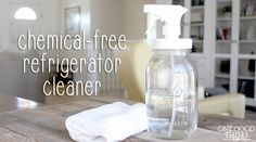 A natural way to clean and deodorize your refrigerator!