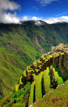 https://flic.kr/p/F6j3H   Cultivated lands at Machu Picchu   Peru. Taken by my wife during her recent trip.