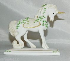 Porcelain Unicorn. Franklin Mint