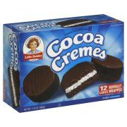 Little Debbie Cocoa Cremes Snack Cakes - 12 CT