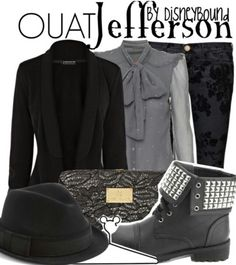 Once Upon A Time's Jefferson Inspired Outfit