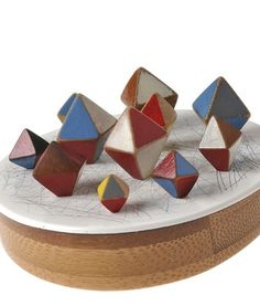 Katy Hackney jeweller - diamonds brooch 2012