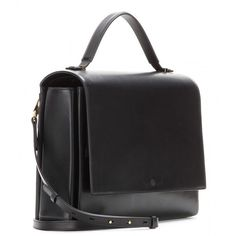 The Row Book Leather Shoulder Bag