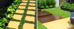 Modern paving in a Sydney landscape design project