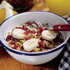 Snow White's Crunchy Homemade Granola from Dishing It Up Disney Style: A Cookbook for Families with Type 1 Diabetes