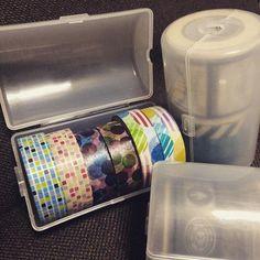 ダイソー便利グッズ【ネクタイケース】がマスキングテープの収納にも便利♪