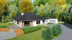 cena Bungalow House Design, Home Fashion, Shed, Outdoor Structures, Mansions, Dom, House Styles, Home Decor, Dinner
