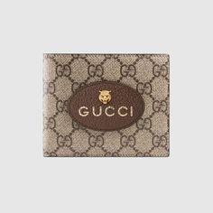 GUCCI Neo Vintage GG Supreme wallet - GG Supreme. #gucci #