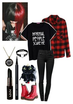 """""""Emo"""" by hey-im-macie ❤ liked on Polyvore featuring Proenza Schouler, Dr…"""