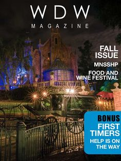 """Coming soon. WDW Magazine. This is NOT to be missed!!!  Check out the details at https://www.facebook.com/WDWMagazine ~~>Isn't this a fantastic front cover?  And since it's produced by  Dad's Guide to WDW  ( http://www.dadsguidetowdw.com/  and https://www.facebook.com/DadsGuidetoWDW ) , I know it will be great!  Dad's site is one of my favorites ... and his crowd calendars are the best!  I especially love the fact that he's including a """"first-timers"""" section in his new magazine. <~~"""