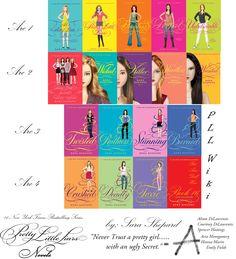 Pretty Little Liars (Book series) - Pretty Little Liars Wiki love all of these books :)