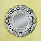 "Wayfair -La Roa Medium Venetian Mirror 31"" diameter"