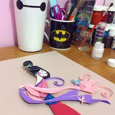 Almost done! #illustration #girlsinanimation #cutpaper