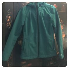 Champion size small rain jacket with hood in blue Perfect condition other than small stain which is shown in pic. The stain will def come out in wash. Like new other than that. Make me an offer! Champion Jackets & Coats Utility Jackets
