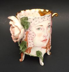 SMALL ROSE CUP FRONT